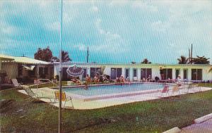 Magnolia Park Apartment Motel Pool Dania Florida