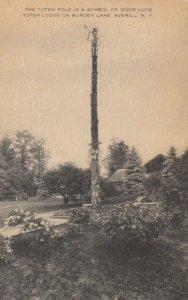 AVERILL, New York , 1900-10s ; Totem Lodge on Burden Lake