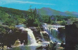 Canada Lundbreck Falls Alberta