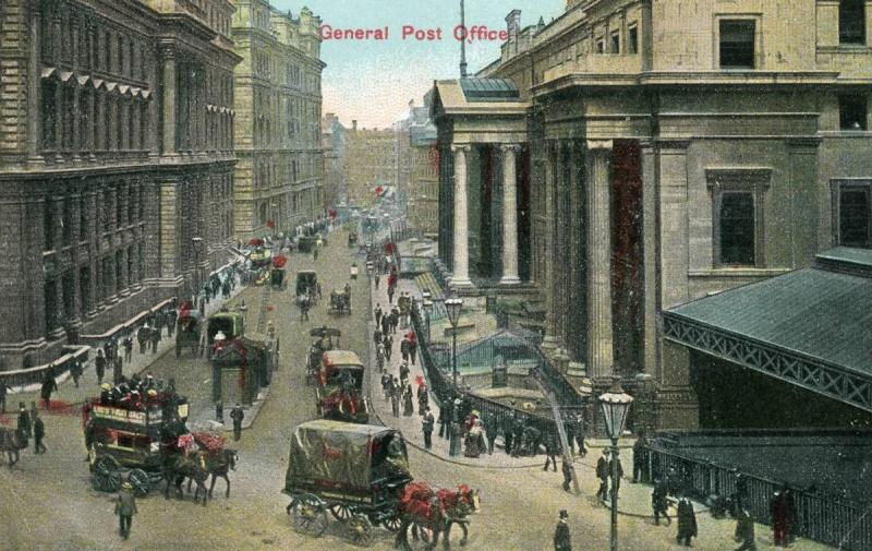 UK - England, London. General Post Office