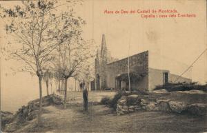 Spain Mare de Deu del Castell de Montcada Capella i casa dels Ermitants 02.13