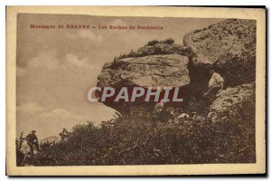 Old Mountain Postcard Beaune Les Roches Rochetain
