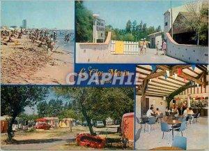 Postcard Modern Valras Plage Le Clos Marin Caravan Elysees Avenue