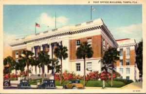 Florida Tampa Post Office Curteich
