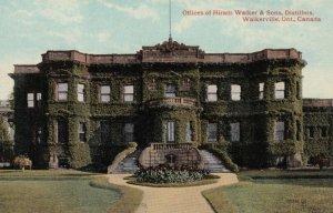 WALKERVILLE, Ontario, Canada, 1900-10s; Offices of Hiram Walker & Sons, Disti...
