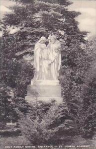 Ohio Cleveland Holy Family Shrine Entrance St Joseph Academy Rocky River Driv...