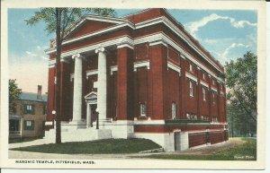 Pittsfield,Mass., Masonic Temple