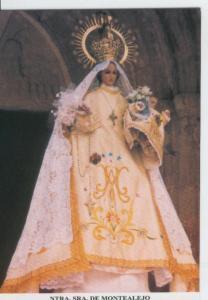 Postal 015407: Virgen Nuestra Se?ra de Montealejo, patrona de Cereceda (Guada...