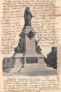 Canada, Quebec Montreal Monument de Mgr. Bourget, Statue 1907