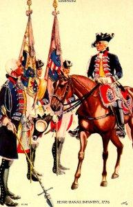 Hesse-Hanau Infantry Regiment, 1776