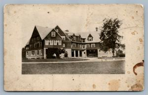 HOLYOKE MA HOME FOR AGED PEOPLE ANTIQUE REAL PHOTO POSTCARD RPPC