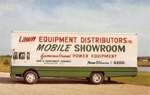 Barrington Illinois Lawn Equipment Distributors Showroom Vintage Postcard K11352