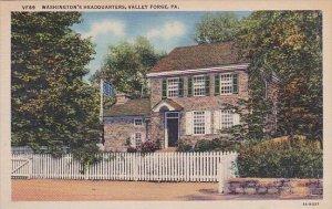 Washingtons Headquarters Valley Forge Pennsylvania
