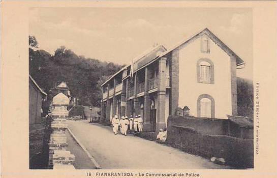 Madagascar Fianarantsoa Le Commissarat de Police Police Station