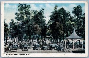 ELMIRA NY ELDRIDGE PARK 1918 ANTIQUE POSTCARD