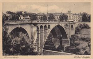 Side View Of Bridge, Le Pont Adolphe, Luxembourg, 1910-1920s