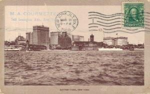 USA Battery Park New York 1908 05.83