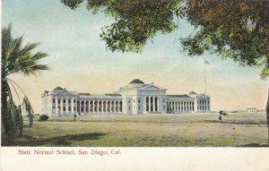 SAN DIEGO , California , 1900-10s ; State Normal School