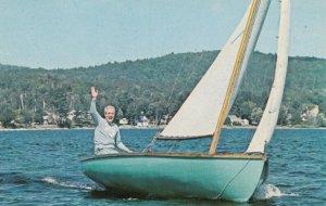 SCHROON LAKE , New York , 1968 ; Sailing