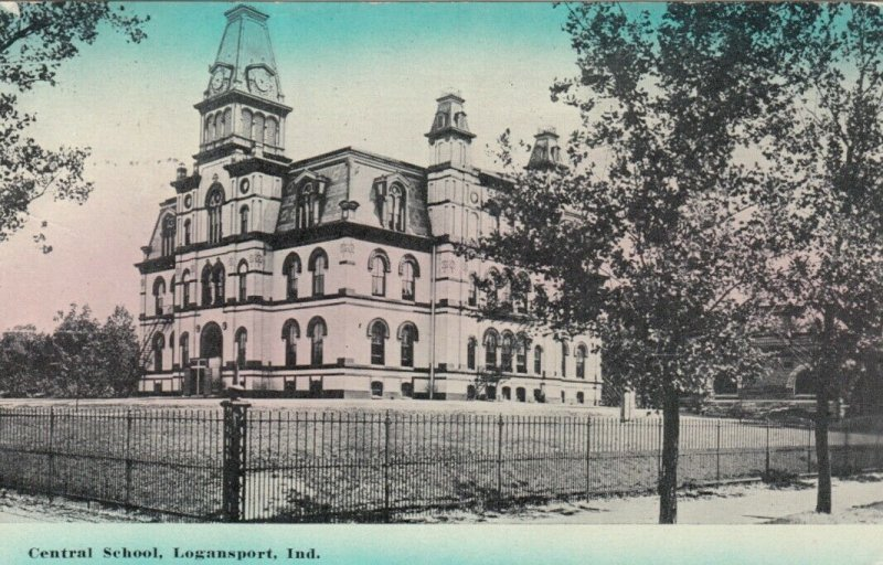 LOGANSPORT , Indiana, 1914; Central School