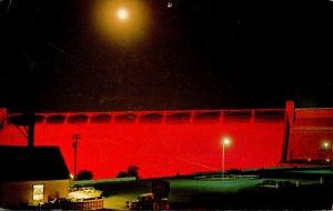 Washington Grand Coulee Dam At Night 1967