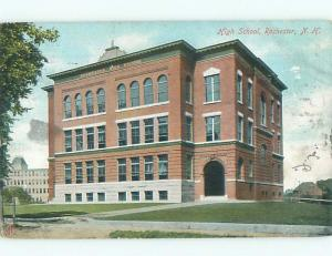 Pre-1907 HIGH SCHOOL Rochester New Hampshire NH n6170
