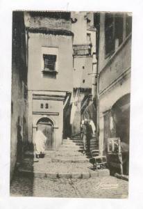 ALGER.- Une rue de la Casbah, PU-1954, Algeria