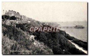 Old Postcard Folkestone Lees Shelter