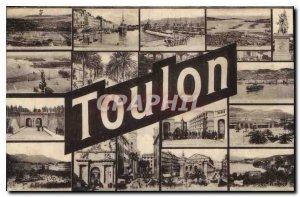 Old Postcard Toulon