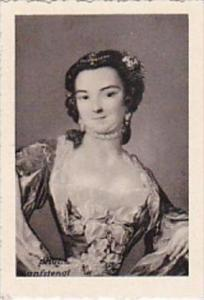 GARBATI CIGARETTE CARD FAMOUS DANCERS NO 7 BARBERINA 1721-1799