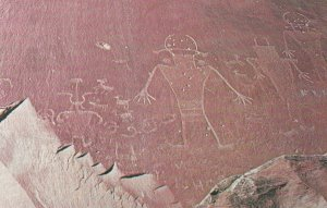 Fremont Indian Petroglyphs , Utah , 50-60s