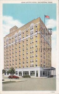 Texas Galveston Jean Lafitte Hotel 1937 Curteich