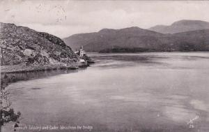 Barmouth Estuary & Cader Idris from the bridge , Wales , 1905 ; TUCK # 1959