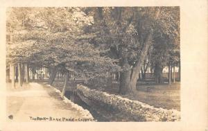 Clifton Springs New York Brook Scenic Real Photo Antique Postcard K58595