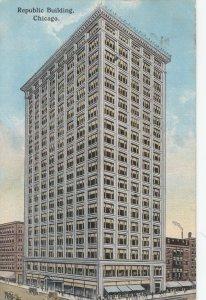 CHICAGO, Illinois, PU-1914; Republic Building
