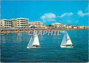 Postcard Modern Igea Marina Panorama