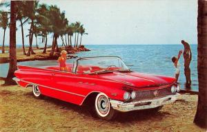 Chicago Illinois Buick Co Convertible Advertising Vintage Postcard J77389