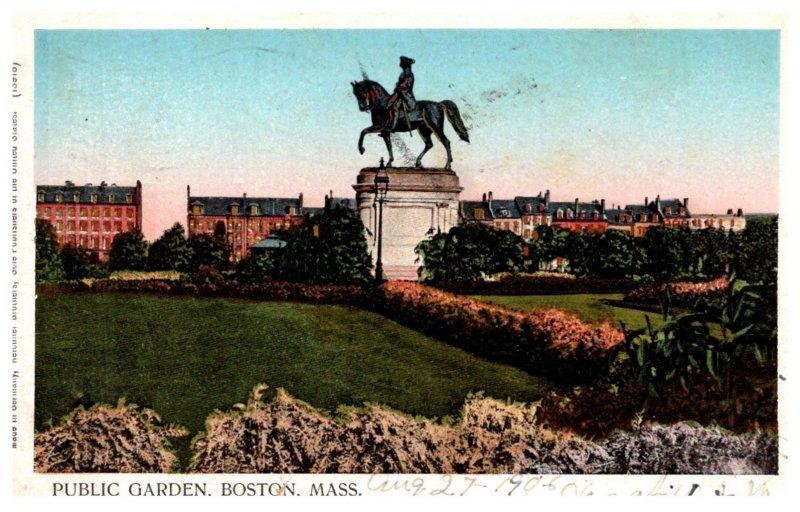 Massachusetts  Boston ,  Public Garden , Reflective Windows