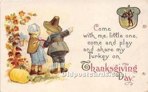 Thanksgiving Greetings Postcard