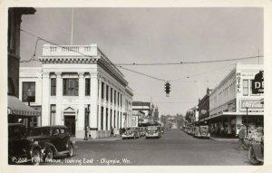 RP: OLYMPIA , Washington , 1940s ; Fifth Avenue , East