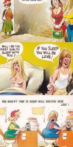 Scottish Just Married Factory 3x Bamforth Comic Postcard s