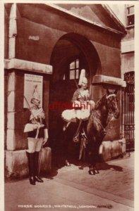 HORSE GUARDS WHITEHALL LONDON ENGLAND UK ST. JAMES PARK RPPC