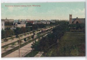 Broadway Ave, Winnipeg Man