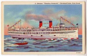 Steamer Theodore Roosevelt, Cleveland-Cedar Point