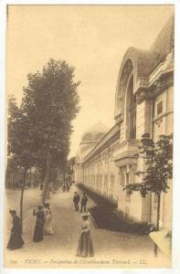 Perspective De l'Etablissement Thermal (Allier), France, 1900-1910s