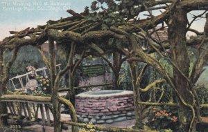SAN DIEGO, California, 1900-10s; Wishing Well at Ramona's Marriage Place