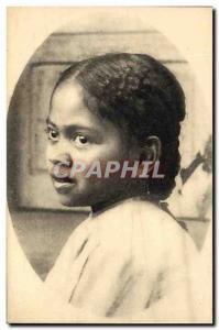 Old Postcard Madagascar Type Female Hova