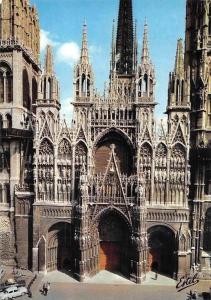 France En Normandie, Rouen, La Cathedrale Notre-Dame Dom Cattedrale