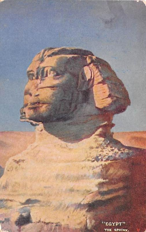 Egypt, Egypte, Africa The Sphinx  The Sphinx