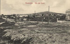 uruguay, MONTEVIDEO, Villa del Cerro (1910s) Postcard